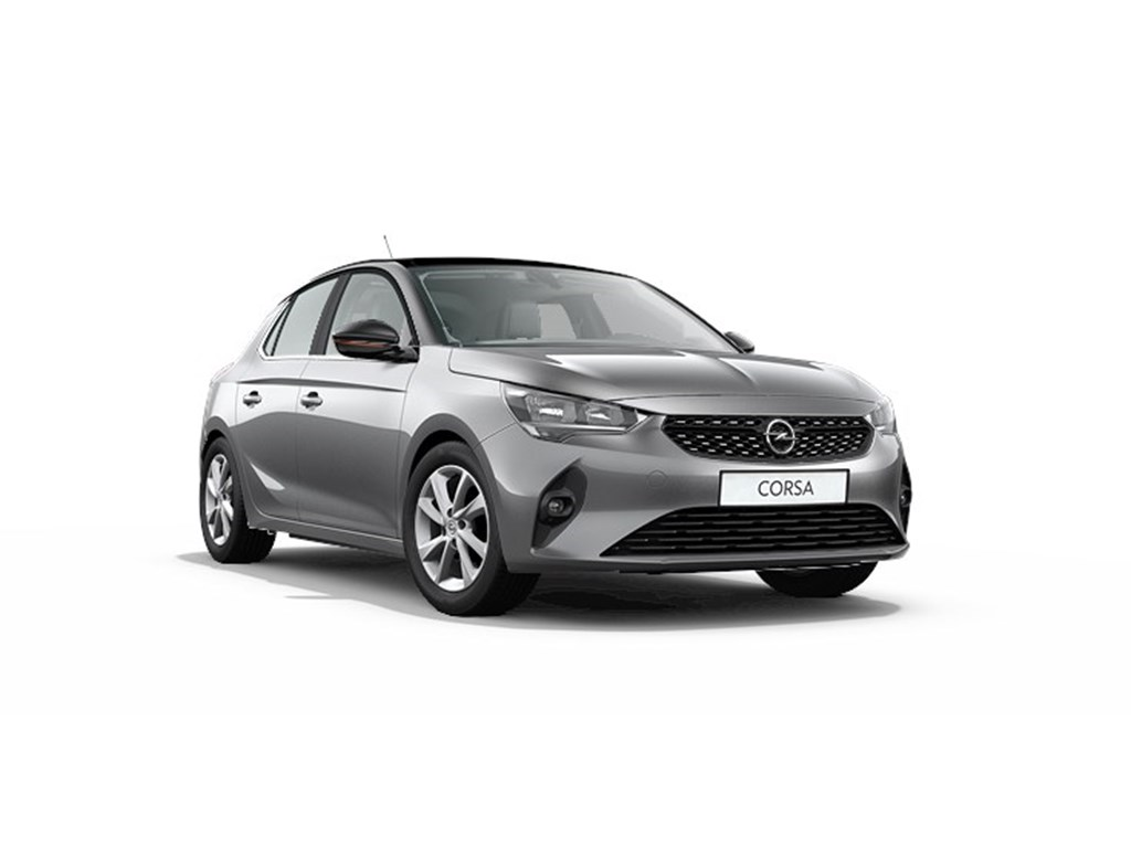 Opel-Corsa-Grijs-5-deurs-Elegance-12-Turbo-Benz-Manueel-6-StartStop-100pk-Nieuw