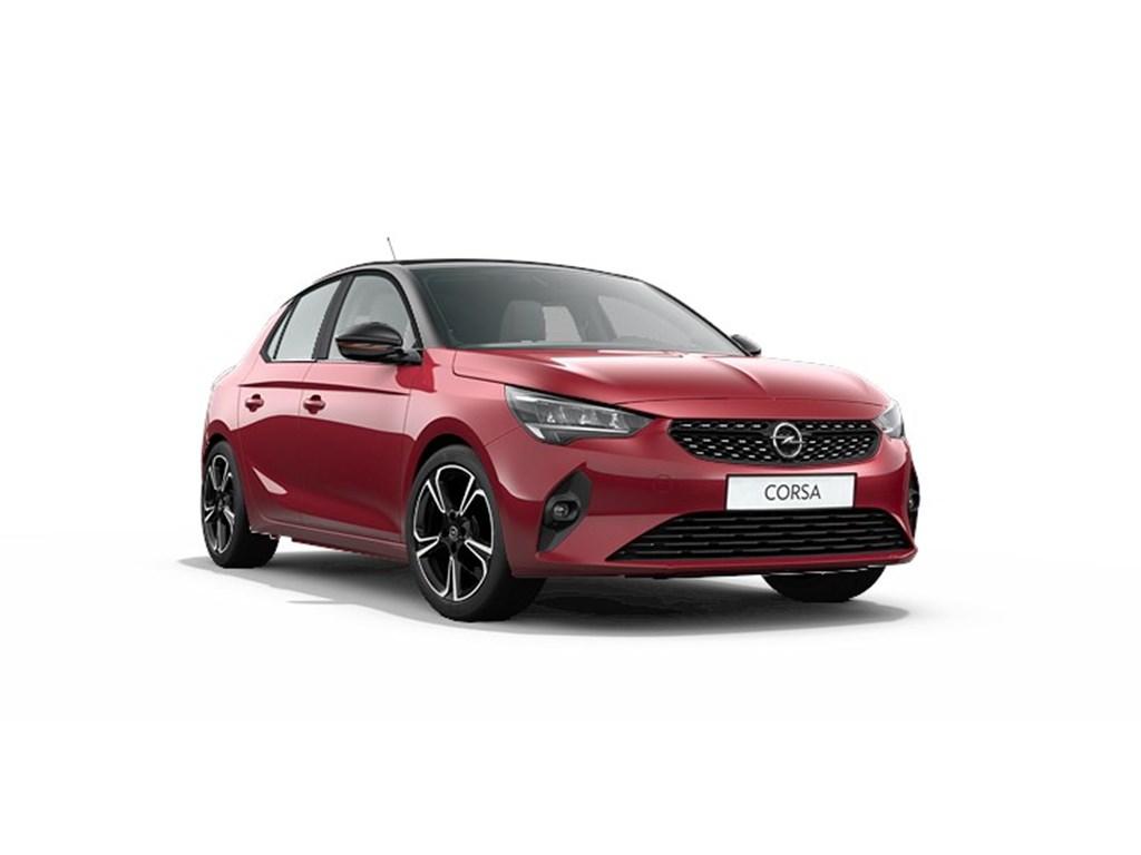 Tweedehands te koop: Opel Corsa Rood - 5-deurs GS-Line 12 Turbo Benz Automaat 8 StartStop - 100pk - Nieuw