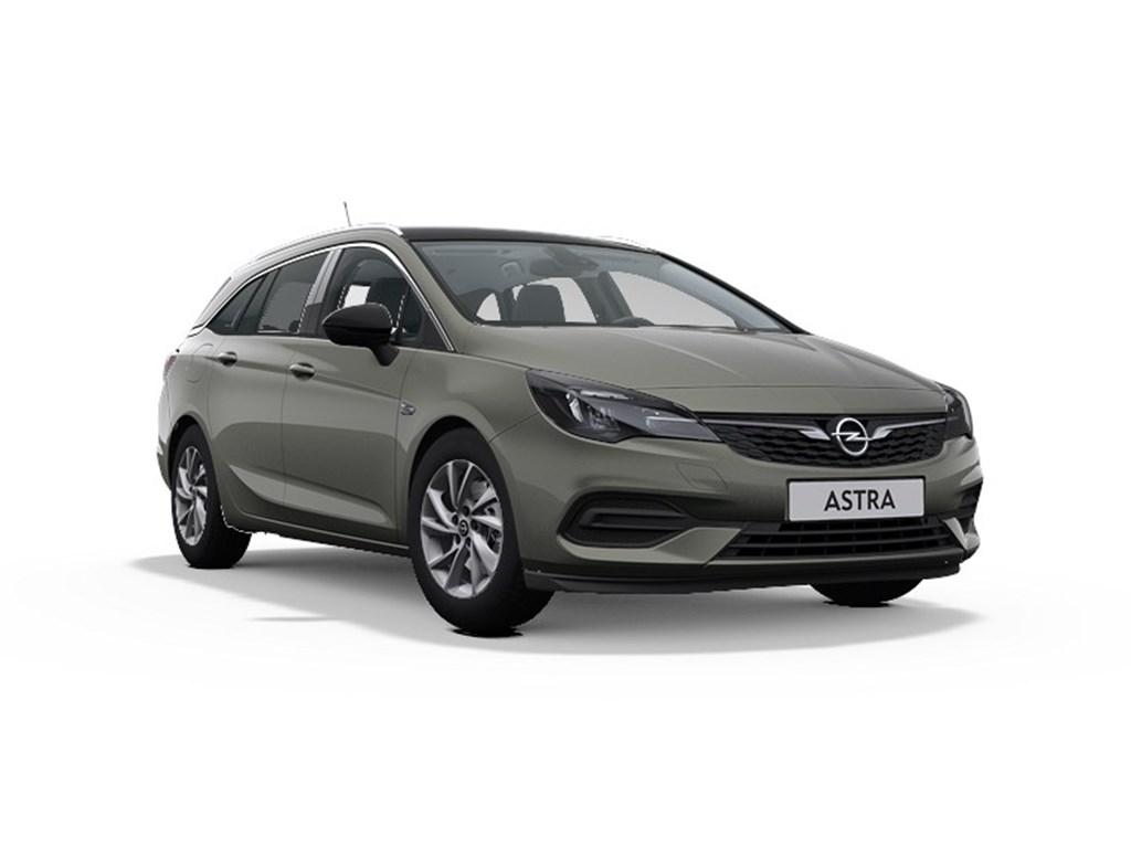 Tweedehands te koop: Opel Astra Grijs - Sports Tourer Elegance 12 Turbo Benz 110pk SS Manueel 6 - Nieuw
