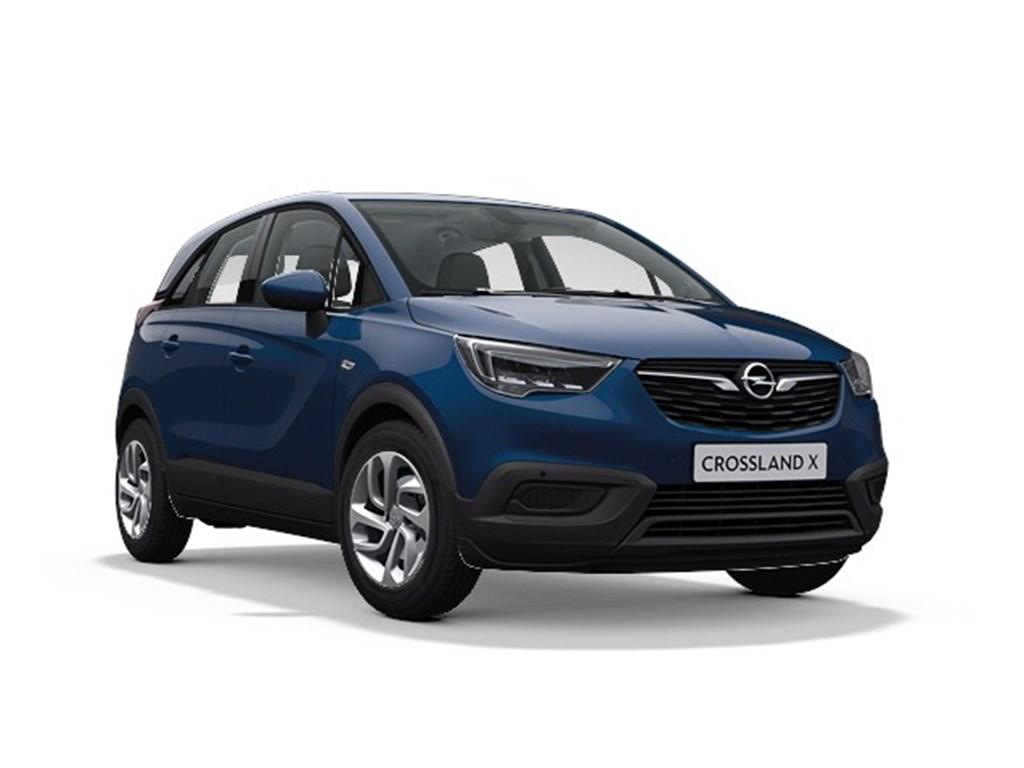 Tweedehands te koop: Opel Crossland X Blauw - Edition 12 Benz Manueel 5 StartStop - 83pk 61kw - Nieuw