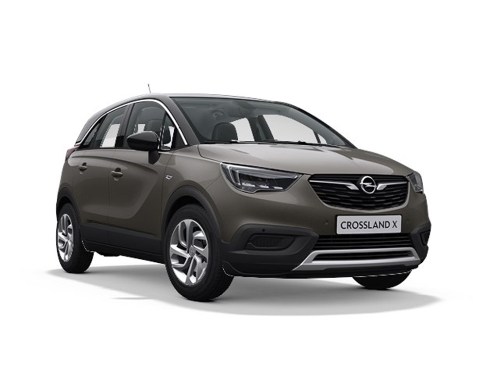 Tweedehands te koop: Opel Crossland X Grijs - Innovation 12 Turbo benz Manueel 6 StartStop - 110pk 81kw - Nieuw