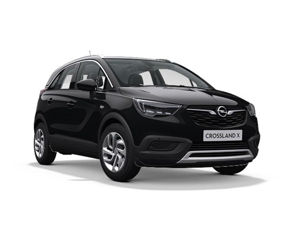 Tweedehands te koop: Opel Crossland X Zwart - Innovation 12 Turbo benz Manueel 6 StartStop - 110pk 81kw - Nieuw