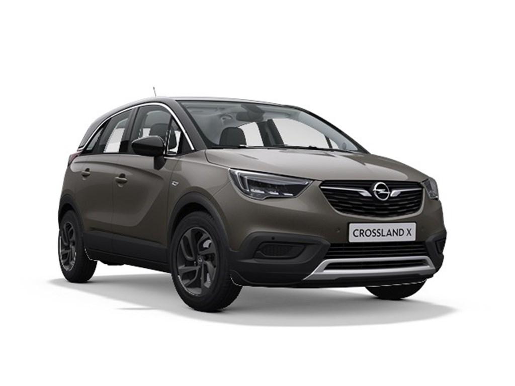 Tweedehands te koop: Opel Crossland X Grijs - 2020 Edition 12 Benz Manueel 6 StartStop - 110pk 81kw - Nieuw
