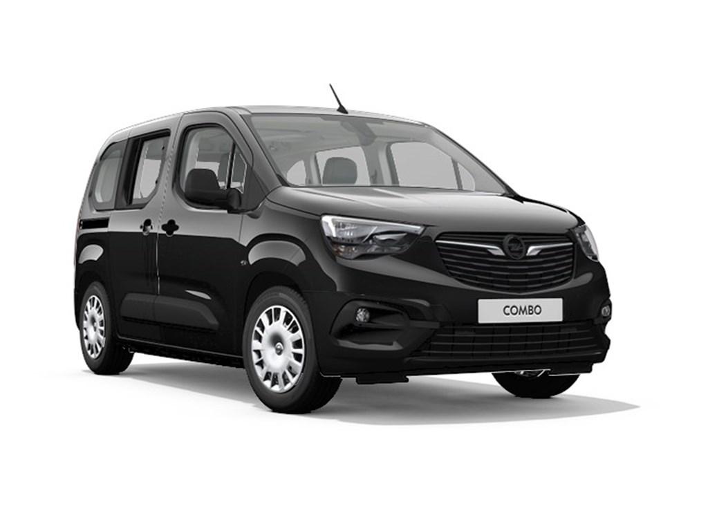 Tweedehands te koop: Opel Combo Life Zwart - Edition Plus - 12 Turbo benz Manueel 6 StartStop - 110pk 81kw - Nieuw