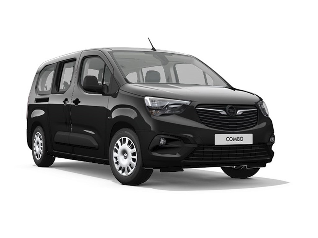 Tweedehands te koop: Opel Combo Life Zwart - XL Edition Plus - 12 Turbo benz Manueel 6 StartStop - 110pk 81kw - Nieuw