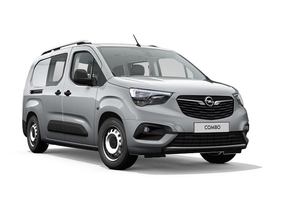 Tweedehands te koop: Opel Combo Grijs - Dubbele Cabine L2H1 12 Turbo benz Manueel 6 StartStop - 110pk 81kw - Nieuw