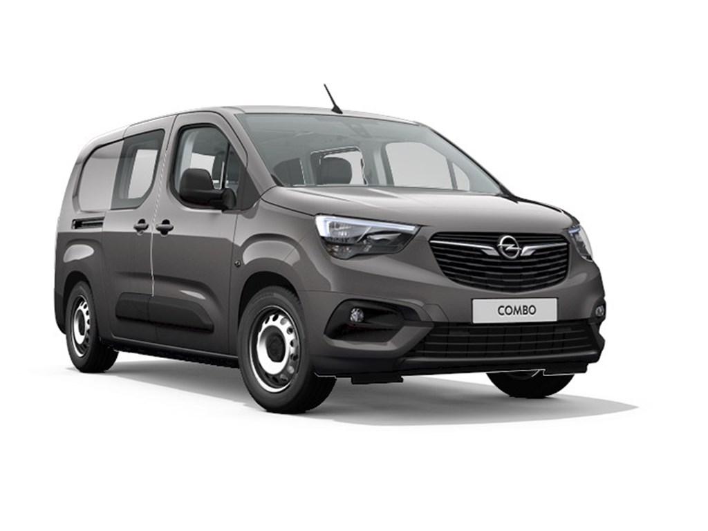 Opel-Combo-Grijs-Dubbele-Cabine-L2H1-15-Turbo-D-Diesel-Automaat-8-StartStop-131pk-96kw-Nieuw