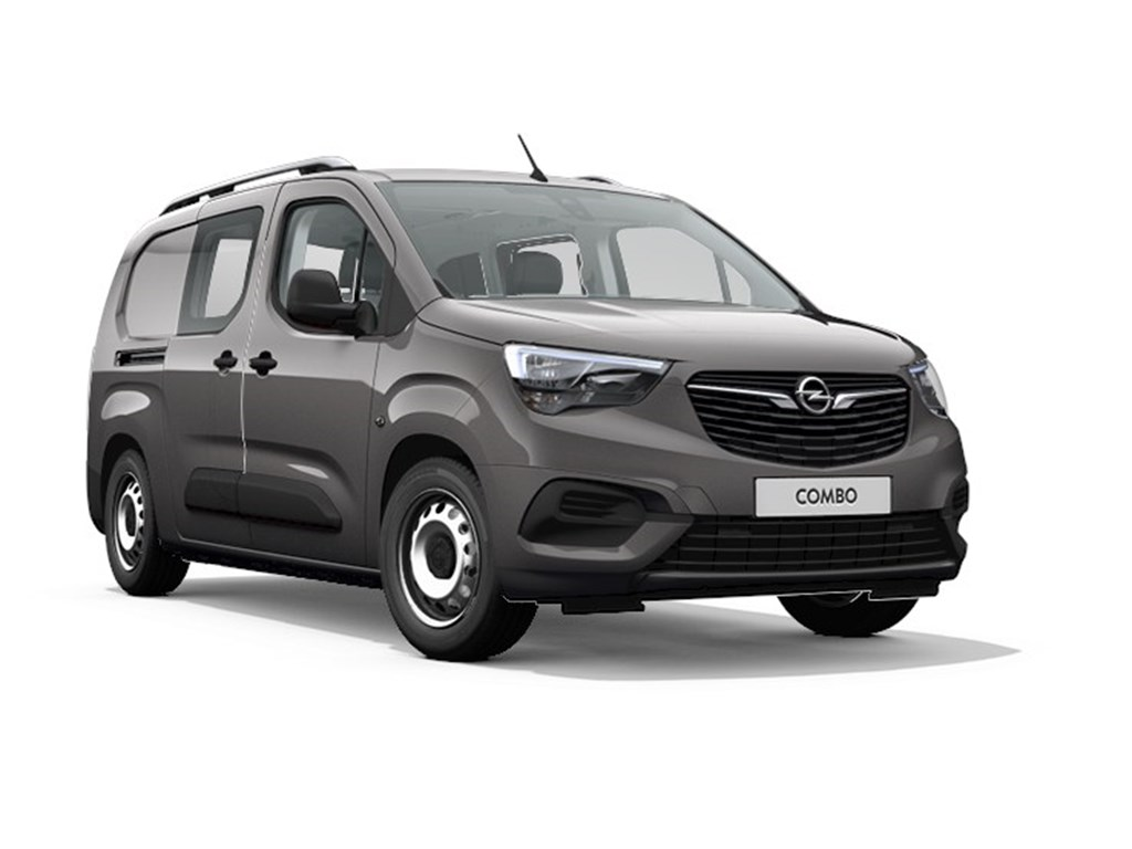 Tweedehands te koop: Opel Combo Grijs - Dubbele Cabine L2H1 15 Turbo D Diesel Manueel 5 StartStop - 102pk 75kw - Nieuw