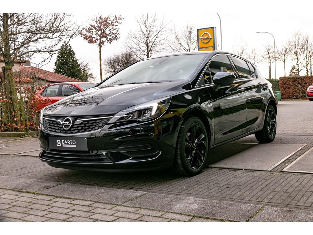 Tweedehands te koop: Opel Astra Zwart - 12Turbo 110pkEleganceNaviDodehoekCamera