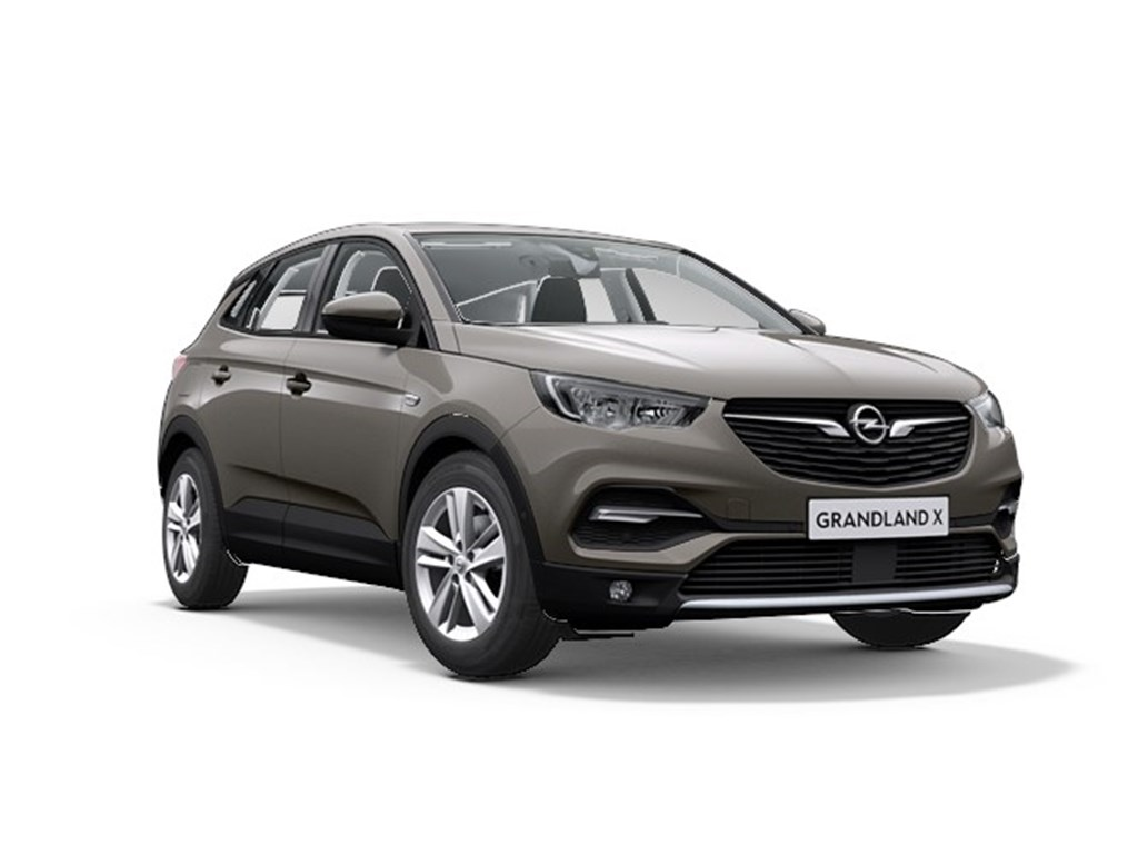 Tweedehands te koop: Opel Grandland X Grijs - Innovation 12 Turbo Benz 130pk Manueel 6 versn - Nieuw