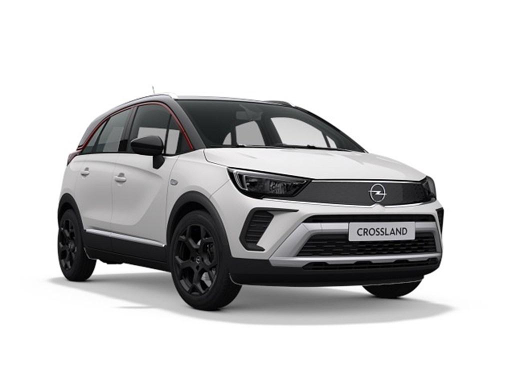 Tweedehands te koop: Opel Crossland X Wit - GS Line 12 Turbo benz Manueel 6 StartStop - 110pk 81kw - Nieuw