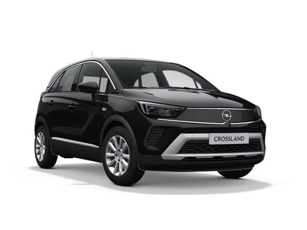 Opel-Crossland-X-Zwart-Elegance-12-Turbo-benz-Manueel-6-StartStop-110pk-81kw-Nieuw