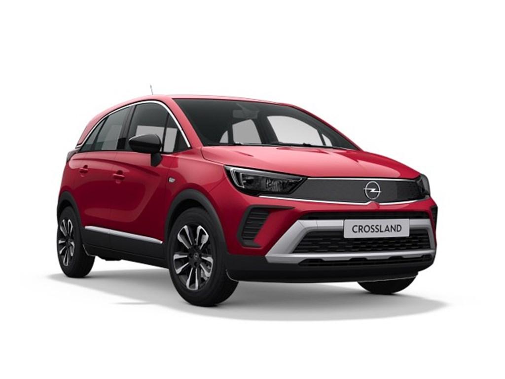 Tweedehands te koop: Opel Crossland X Zwart - Elegance 12 Turbo benz AUTOMAAT 6 StartStop - 130pk 96kw - Nieuw