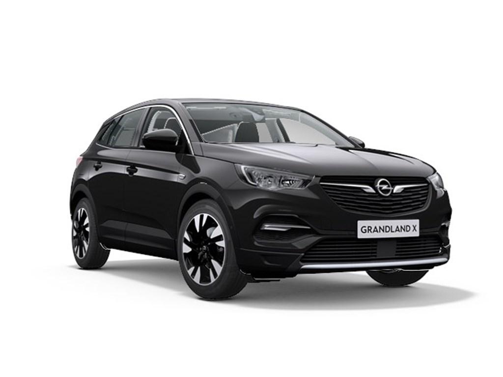 Tweedehands te koop: Opel Grandland X Zwart - Elegance 12 Turbo Benz 130pk Automaat 8 - Nieuw