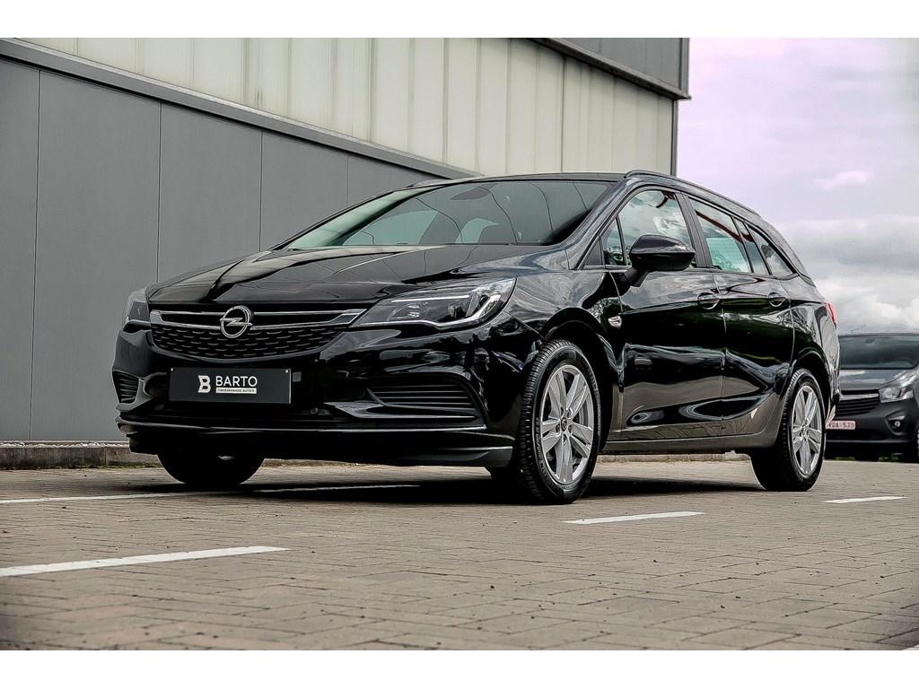 Tweedehands te koop: Opel Astra Zwart - BreakBenz 105pkNaviParkeersensAuto LichtenWEINIG KMs