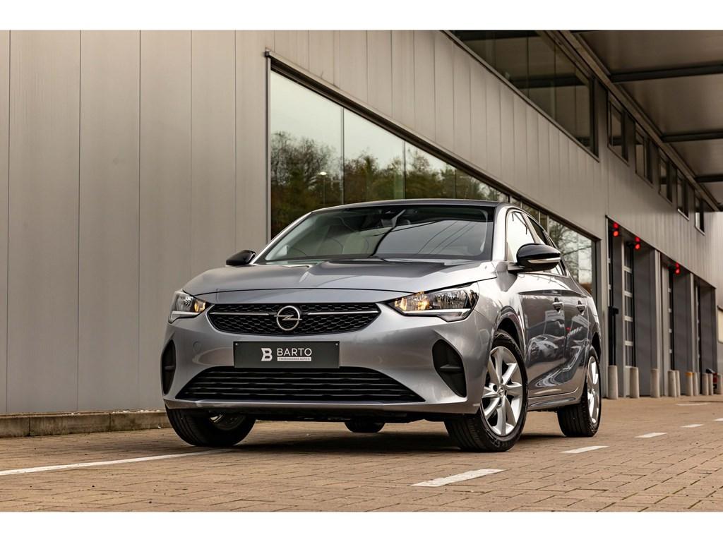 Tweedehands te koop: Opel Corsa Grijs - 12Turbo ATNaviParkeersensAircoOfflaneAuto Lichten