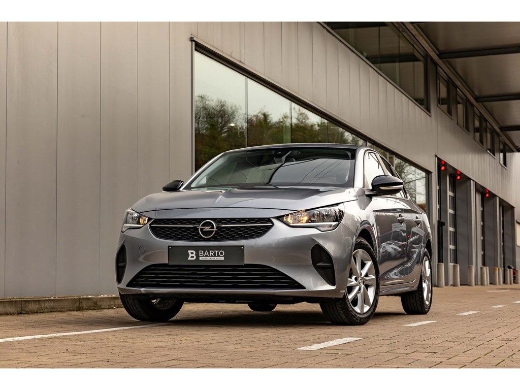 Opel-Corsa-Grijs-12Turbo-ATNaviParkeersensAircoOfflaneAuto-Lichten