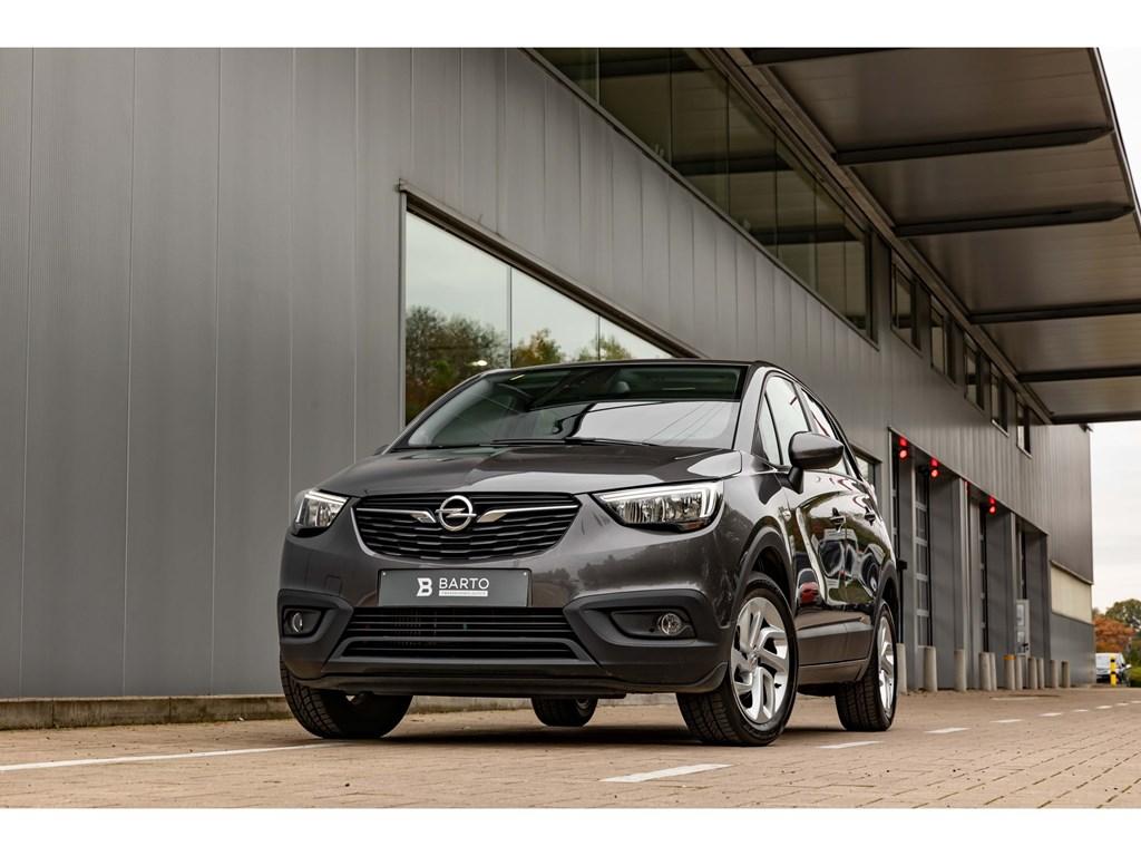 Tweedehands te koop: Opel Crossland X Grijs - 12benz 110pkNaviKeyless StartEntryParkeersensAirco
