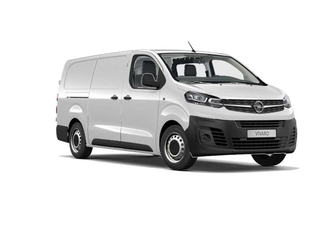 Tweedehands te koop: Opel Vivaro Wit - Gesloten Bestelwagen Edition L3H1 3pl 20 Turbo D Diesel 122pk 90kw MT6 - Nieuw