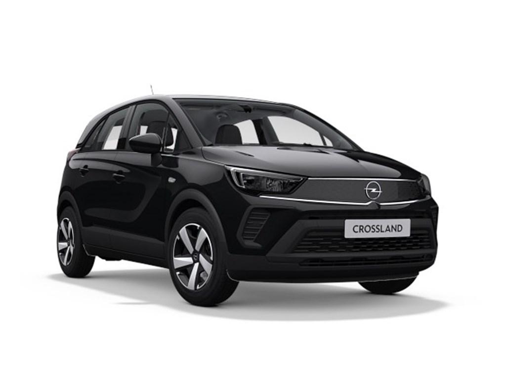 Tweedehands te koop: Opel Crossland X Zwart - Edition 12 Benz Manueel 5 StartStop - 83pk 61kw - Nieuw