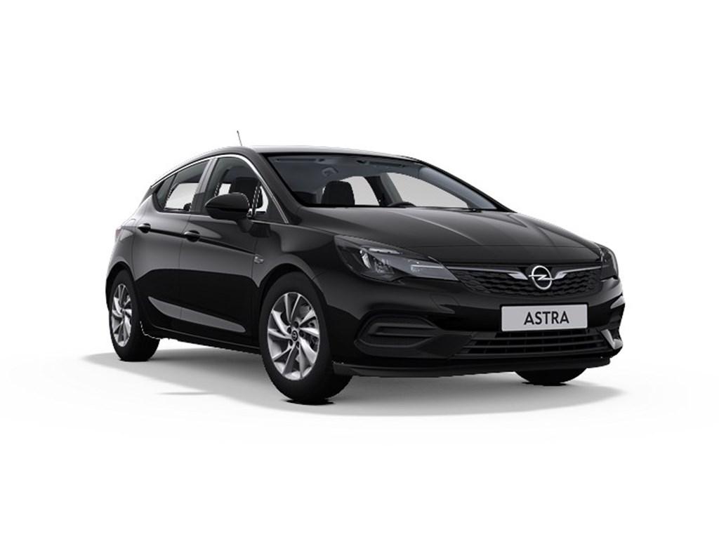 Opel-Astra-Zwart-5-Deurs-14-Turbo-Benz-145pk-SS-CVT-7-Elegance-Nieuw