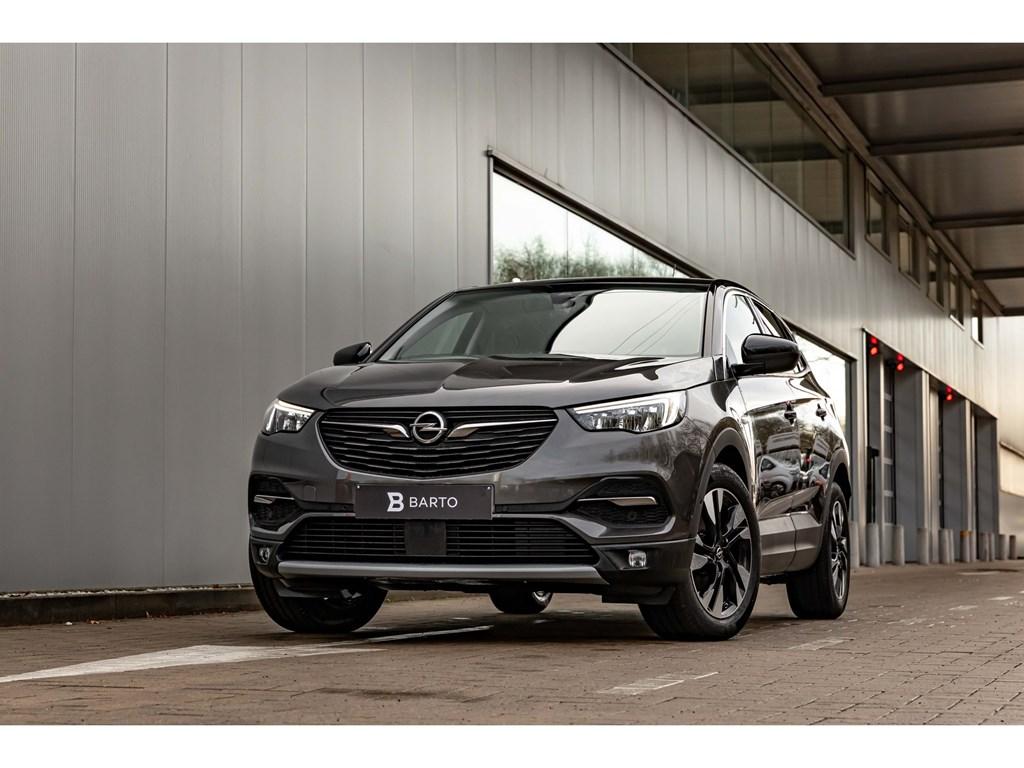 Tweedehands te koop: Opel Grandland X Grijs - 12Benz 130pk ATInnovationCameraBiColor 18Weinig kms
