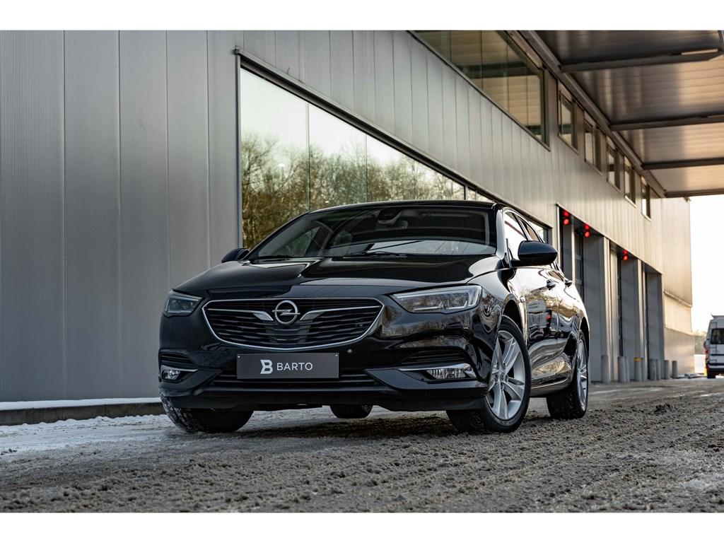 Tweedehands te koop: Opel Insignia Zwart - 16 CDTIInnovationLederLEDMatrixZetelverw