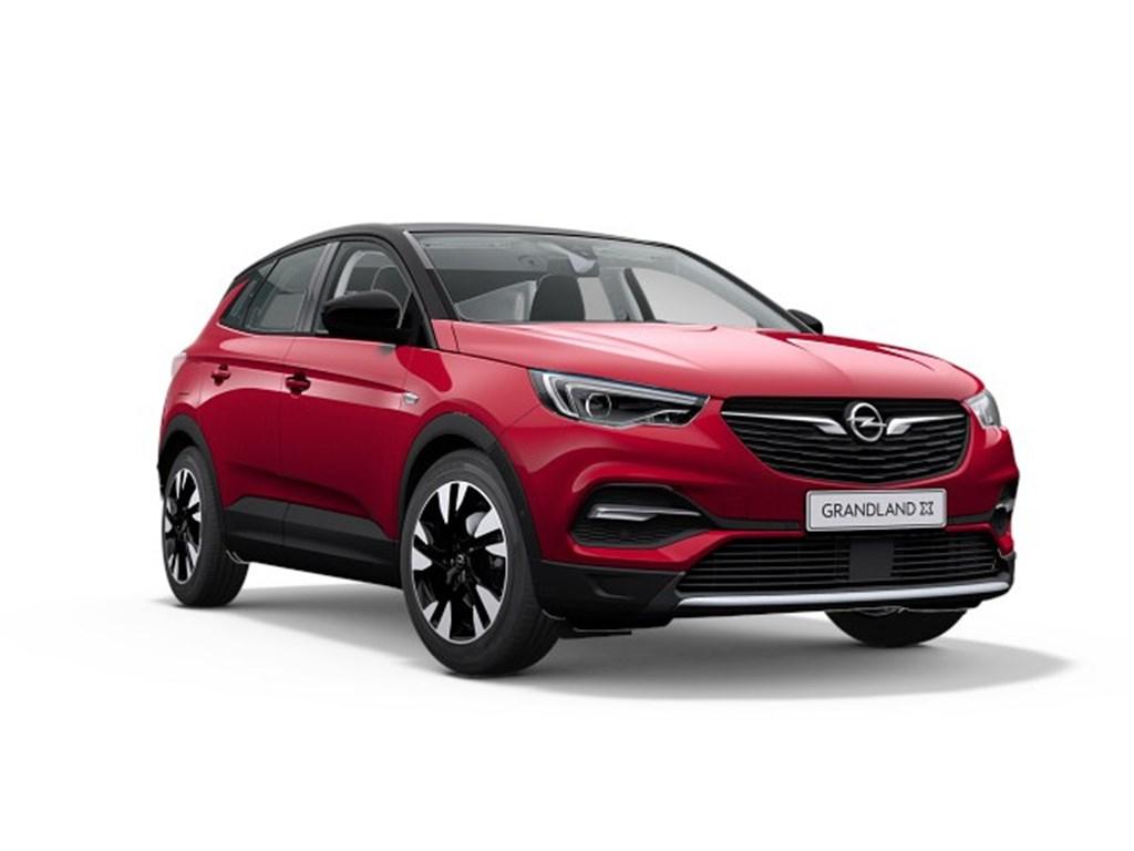 Tweedehands te koop: Opel Grandland X Rood - Elegance 16 Turbo E-AT8 StartStop Hybrid - 224pk 165kw - Nieuw