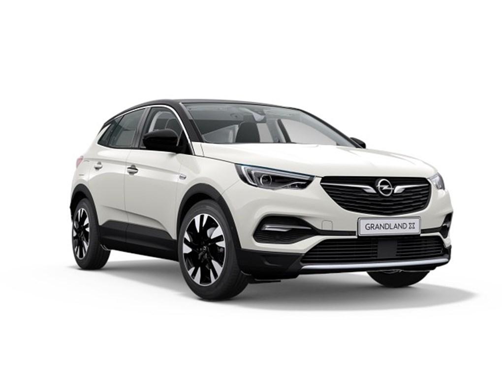 Tweedehands te koop: Opel Grandland X Wit - Elegance 12 Turbo Benz 130pk Automaat 8 - Nieuw
