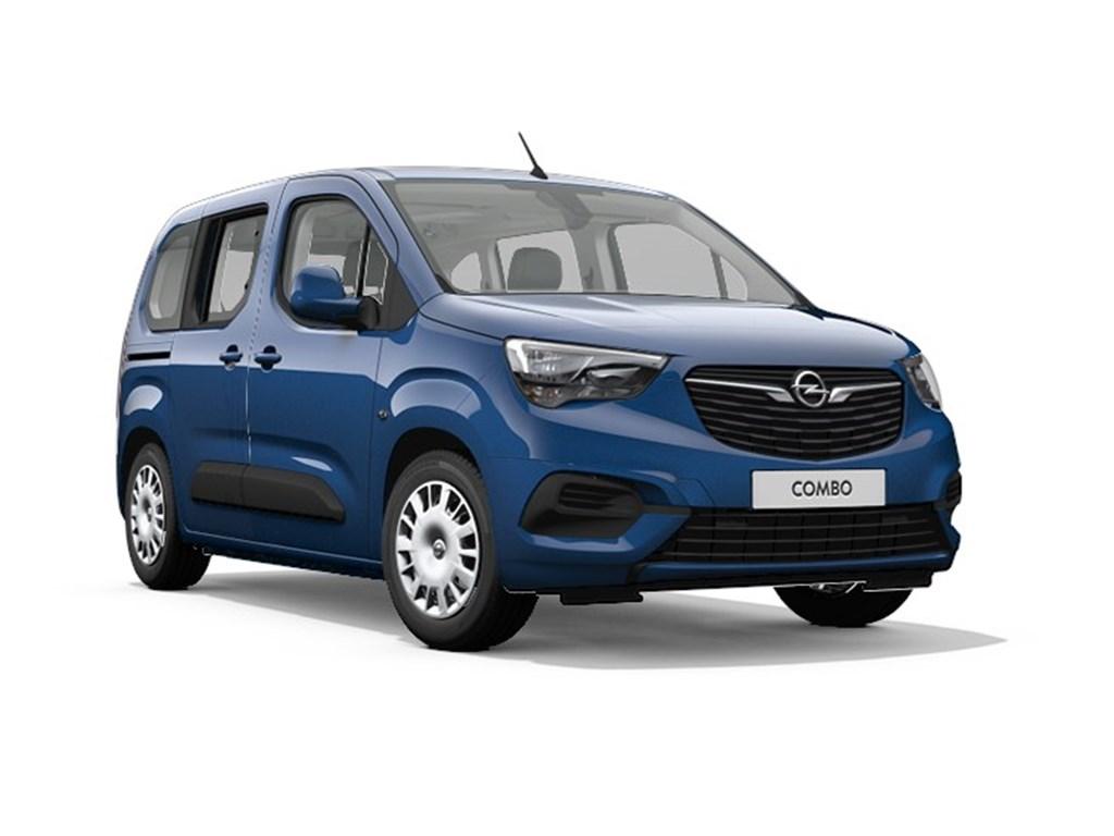 Tweedehands te koop: Opel Combo Life Blauw - Edition Plus - 12 Turbo benz Manueel 6 StartStop - 110pk 81kw - Nieuw