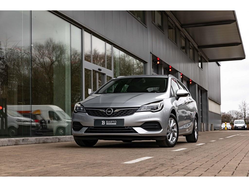 Opel-Astra-Zilver-15D-122pk-ATNaviAuto-LichtenParkeersens-va