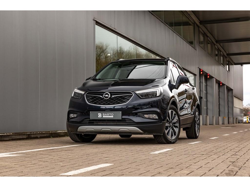 Tweedehands te koop: Opel Mokka X Blauw - 14T Benz 140pkCameraLEDMatrixOfflaneParkeersens vaAuto Airco