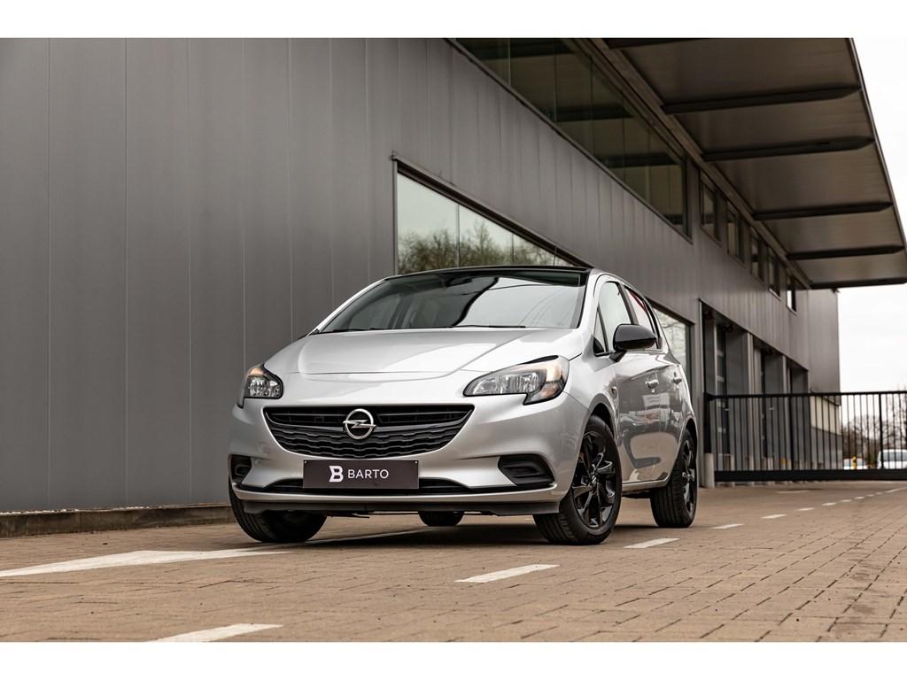 Tweedehands te koop: Opel Corsa Zilver - 12BenzBlack EditionNaviAircoCruisectrl