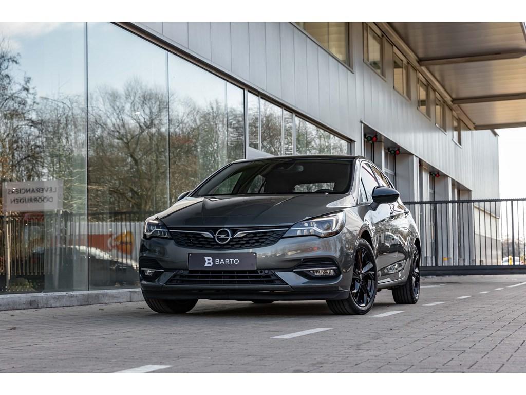 Tweedehands te koop: Opel Astra Grijs - 15TDI AT9EleganceVolledig LederMassageGrote NaviCameraDodehoek