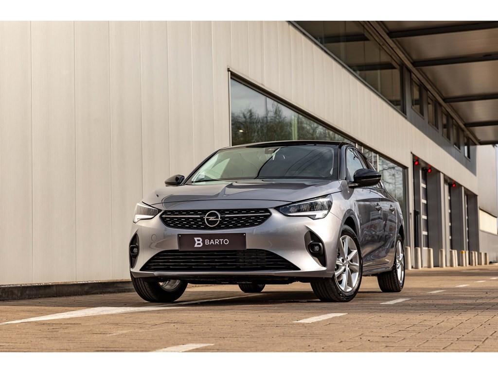 Opel-Corsa-Grijs-12Benz0kms-Daginschr-022021EleganceCameraDig-Dashboard