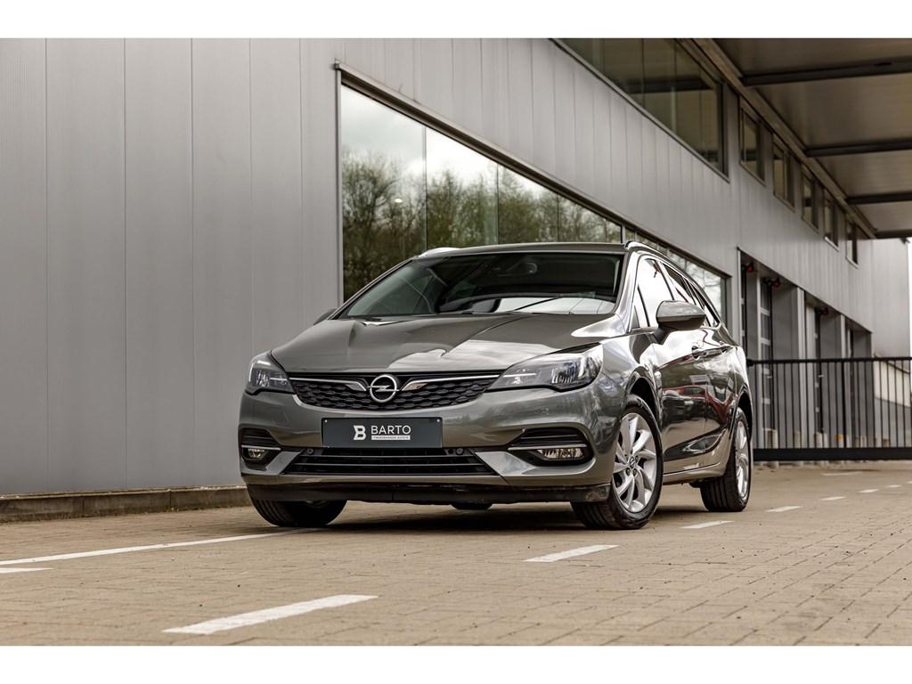Tweedehands te koop: Opel Astra Grijs - 15 Diesel AT9EleganceElektr KofferDodehoekCameraLED