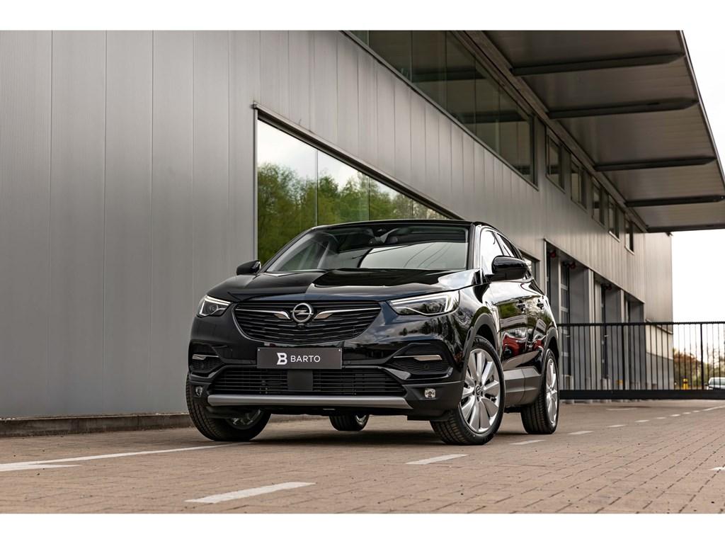 Opel-Grandland-X-Zwart-16Benz-180pk-ATLEDPano-DakVolledig-LederDenon-SoundAfn-Trekhaak