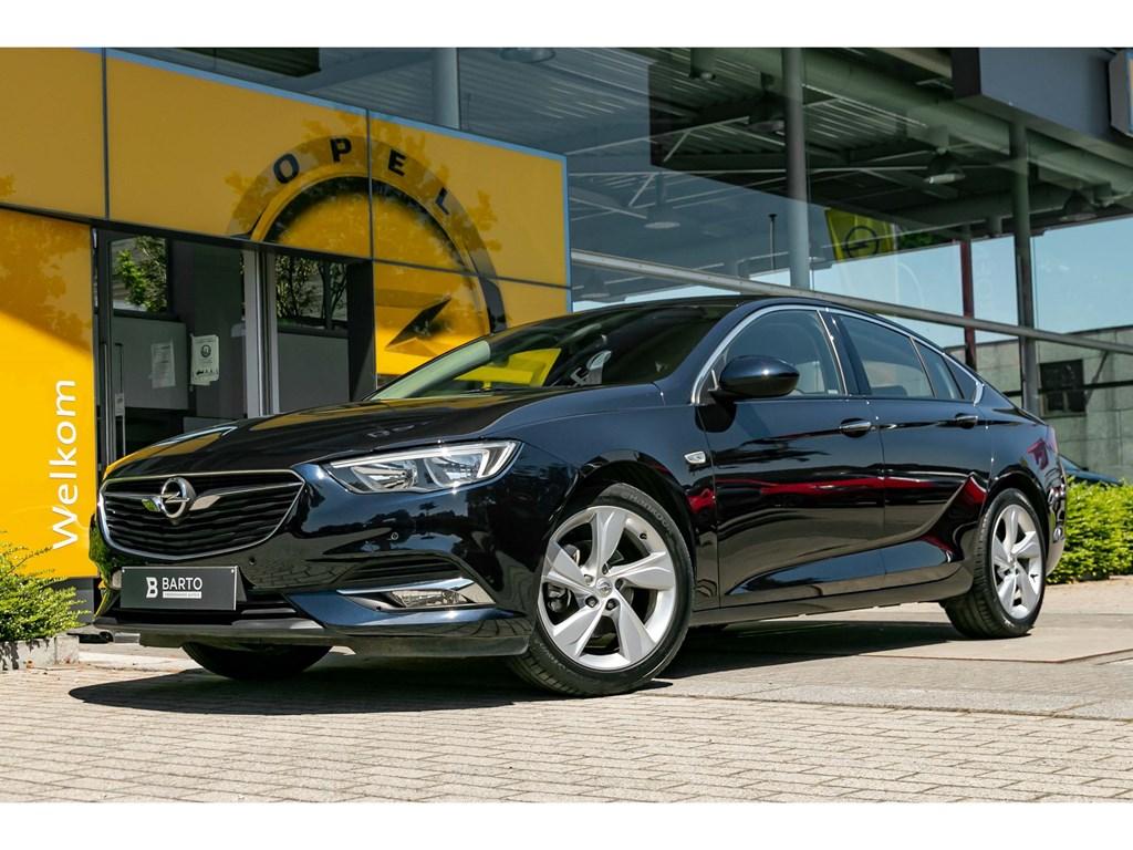 Opel-Insignia-Blauw-Grand-Sport-5-deurs-15-Turbo-benz-InnovationAuto-AircoNaviOfflane