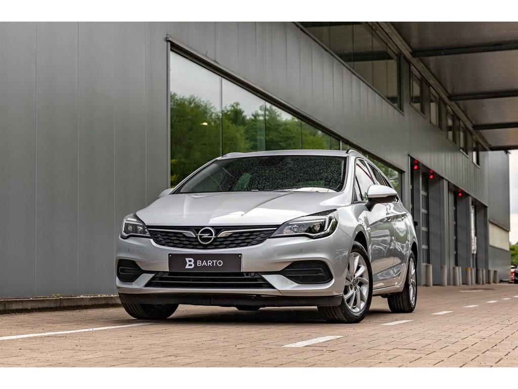 Tweedehands te koop: Opel Astra Zilver - 15 Diesel 122pk Break Navigatie Airco
