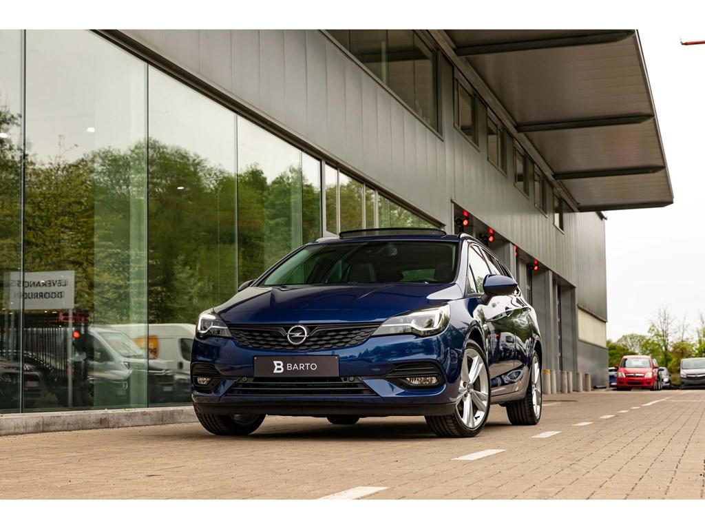 Tweedehands te koop: Opel Astra Blauw - 15D AT9BreakBlack packDirectiewLEDMatrixAlcantaraNavi Pro