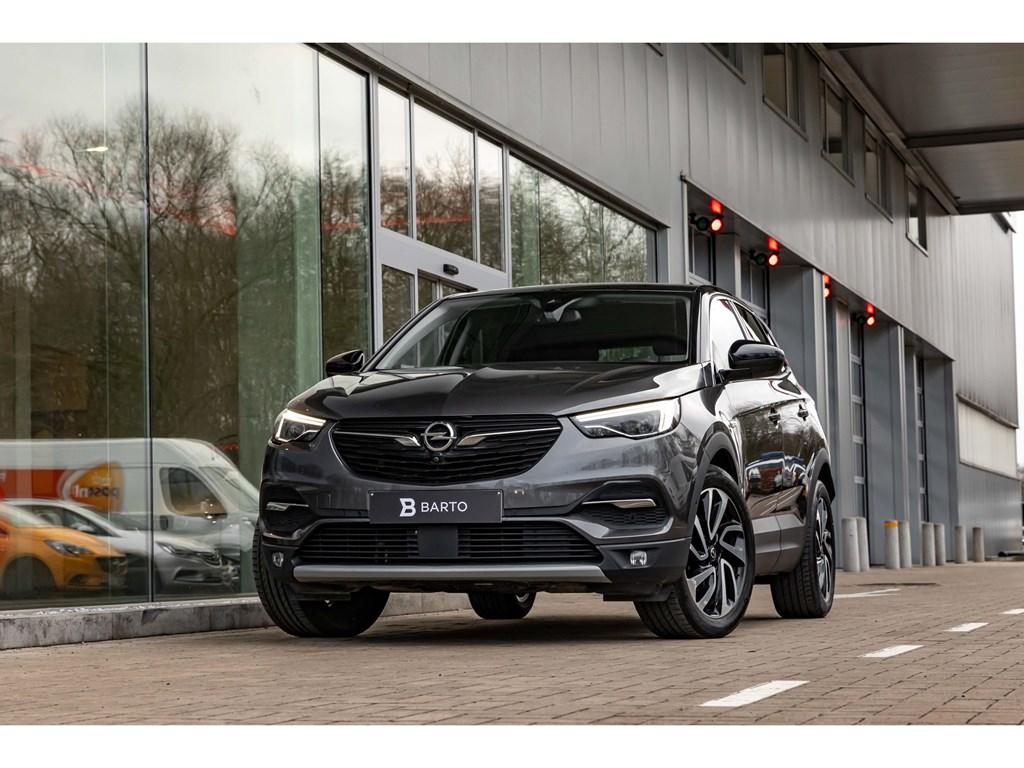 Tweedehands te koop: Opel Grandland X Grijs - 12 Turbo ATUltimateVolledig Leder360CameraLEDMatrix