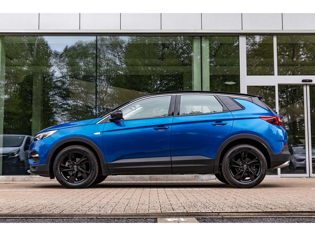 Opel-Grandland-X-Blauw-16Benz-180PK-AT8Pano-DakElektr-KofferLEDDodehoek