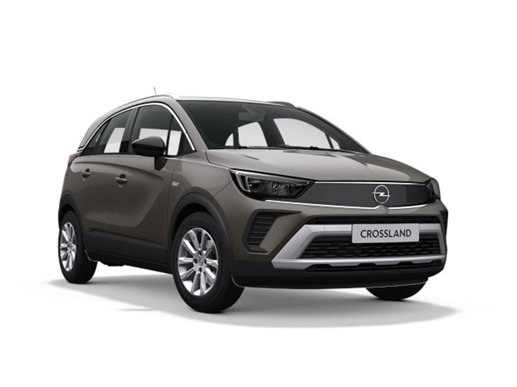 Tweedehands te koop: Opel Crossland X Grijs - Elegance 12 Turbo benz AUTOMAAT 6 StartStop - 130pk 96kw - Nieuw