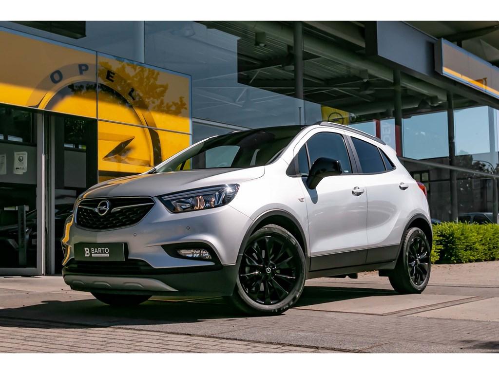 Tweedehands te koop: Opel Mokka Zilver - 14 Turbo benzBlack EditionNaviParkeersensAuto Airco