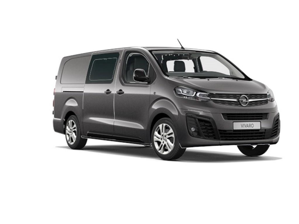 Tweedehands te koop: Opel Vivaro Grijs - Dubbele Cabine Edition L3H1 Verhoogd Laadvermogen 20 Turbo D 122pk - 6pl - Nieuw