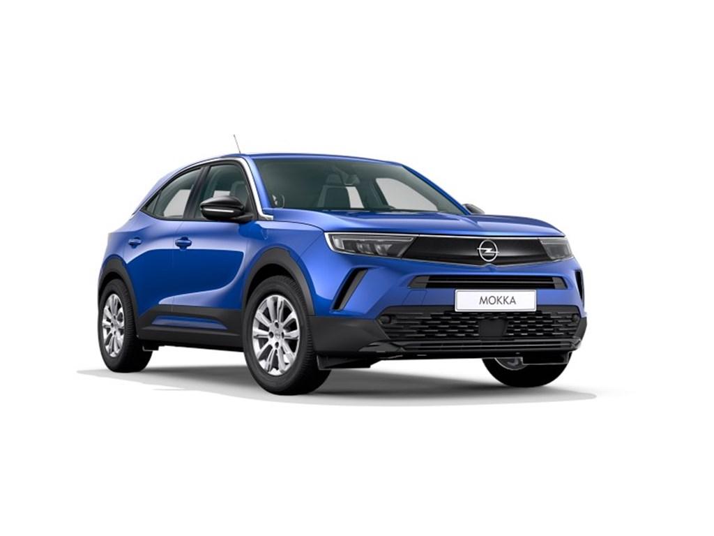 Tweedehands te koop: Opel Mokka Blauw - Edition 12 Turbo benz Manueel 6 StartStop - 100pk 74kw - Nieuw
