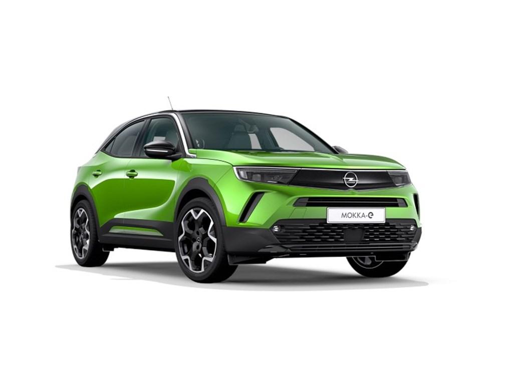 Tweedehands te koop: Opel Mokka Groen - e- Ultimate Elektr BEV 50kWh 136pk 100kW - Nieuw