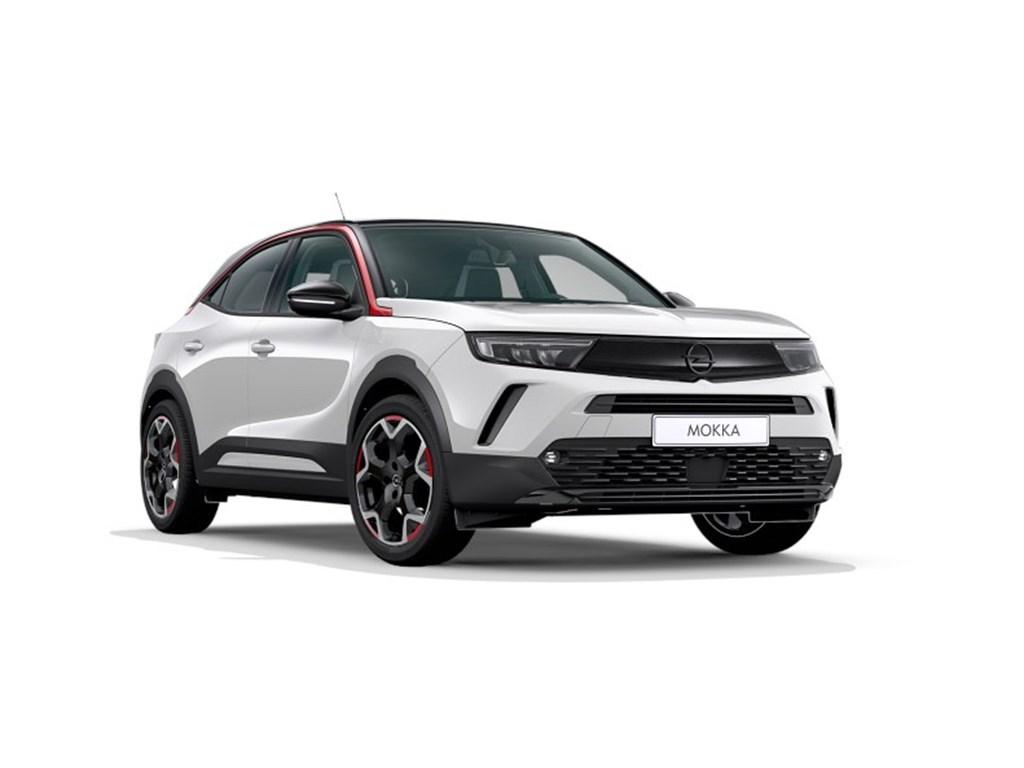 Tweedehands te koop: Opel Mokka Wit - GS-Line 12 Turbo benz Manueel 6 StartStop - 100pk 74kw - Nieuw