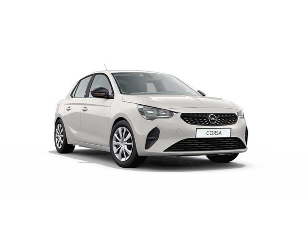 Tweedehands te koop: Opel Corsa Wit - 5-deurs - e Edition - Elektrisch Automaat 136pk 100kw with 50kw Battery Nieuw