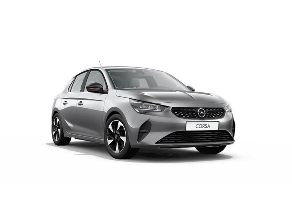 Tweedehands te koop: Opel Corsa Grijs - 5-deurs - e Elegance - Elektrisch Automaat 136pk 100kw with 50kw Battery Nieuw